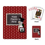 Snowman Craft Playing Cards - Playing Cards Single Design