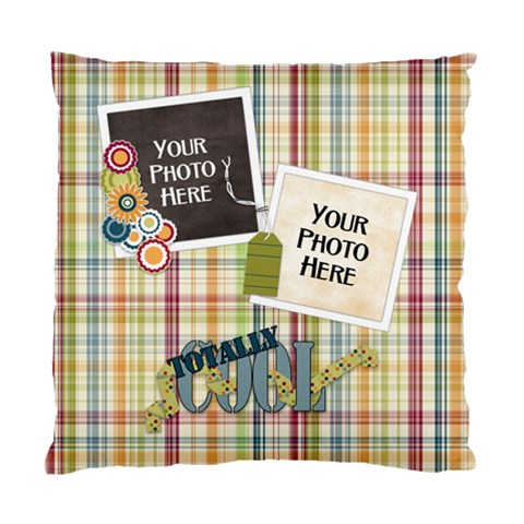 Totally Cool Cushion By Lisa Minor   Standard Cushion Case (one Side)   C8sdib29cwwx   Www Artscow Com Front