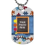 Silly Summer Fun Dog Tag - Dog Tag (One Side)