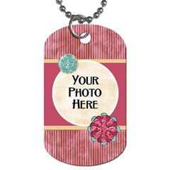 Sleepover Dog Tag By Lisa Minor   Dog Tag (two Sides)   S4nb79vhyfoa   Www Artscow Com Front