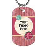 Sleepover Dog Tag - Dog Tag (Two Sides)