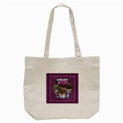 My Purple Tote Bag By Deborah   Tote Bag (cream)   7nglgp6upqk0   Www Artscow Com Front