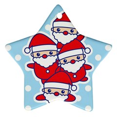Santa s Star Ornament by Contest1762364