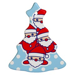 Santa s Christmas Tree Ornament by Contest1762364
