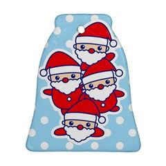 Santa s Bell Ornament (Two Sides) by Contest1762364