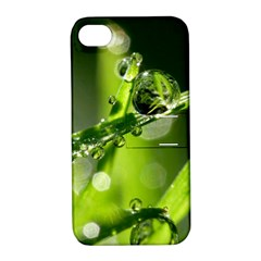 Waterdrops Apple Iphone 4/4s Hardshell Case With Stand by Siebenhuehner
