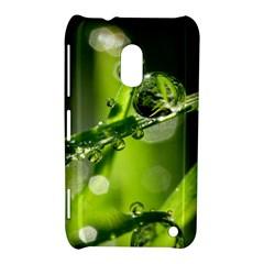 Waterdrops Nokia Lumia 620 Hardshell Case by Siebenhuehner