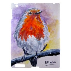 Robin Red Breast Apple Ipad 3/4 Hardshell Case by ArtByThree