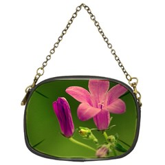 Campanula Close Up Chain Purse (two Sided)  by Siebenhuehner