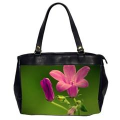 Campanula Close Up Oversize Office Handbag (two Sides) by Siebenhuehner