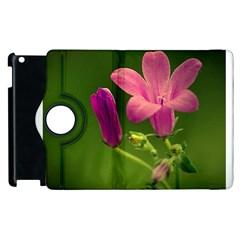 Campanula Close Up Apple Ipad 3/4 Flip 360 Case by Siebenhuehner