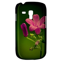 Campanula Close Up Samsung Galaxy S3 Mini I8190 Hardshell Case by Siebenhuehner