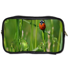 Ladybird Travel Toiletry Bag (two Sides) by Siebenhuehner