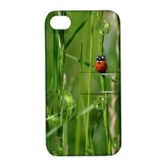 Ladybird Apple Iphone 4/4s Hardshell Case With Stand by Siebenhuehner