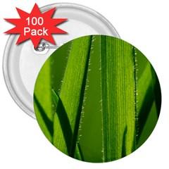 Grass 3  Button (100 Pack) by Siebenhuehner