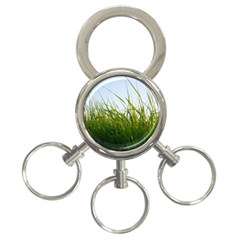 Grass 3 Ring Key Chain by Siebenhuehner