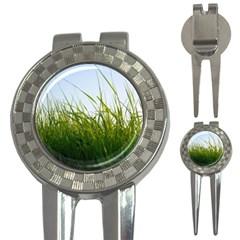 Grass Golf Pitchfork & Ball Marker by Siebenhuehner
