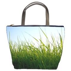 Grass Bucket Bag by Siebenhuehner