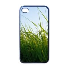 Grass Apple Iphone 4 Case (black) by Siebenhuehner