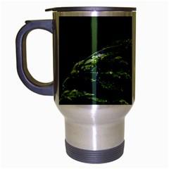Waterdrops Travel Mug (silver Gray) by Siebenhuehner