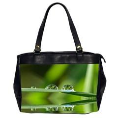 Waterdrops Oversize Office Handbag (two Sides) by Siebenhuehner