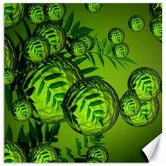 Magic Balls Canvas 16  X 16  (unframed) by Siebenhuehner
