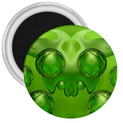 Magic Balls 3  Button Magnet by Siebenhuehner