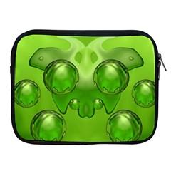 Magic Balls Apple Ipad 2/3/4 Zipper Case by Siebenhuehner