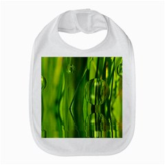 Green Bubbles  Bib by Siebenhuehner