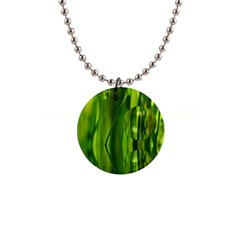 Green Bubbles  Button Necklace by Siebenhuehner