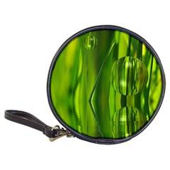 Green Bubbles  Cd Wallet by Siebenhuehner