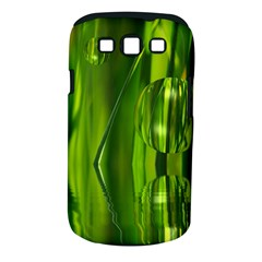 Green Bubbles  Samsung Galaxy S Iii Classic Hardshell Case (pc+silicone) by Siebenhuehner