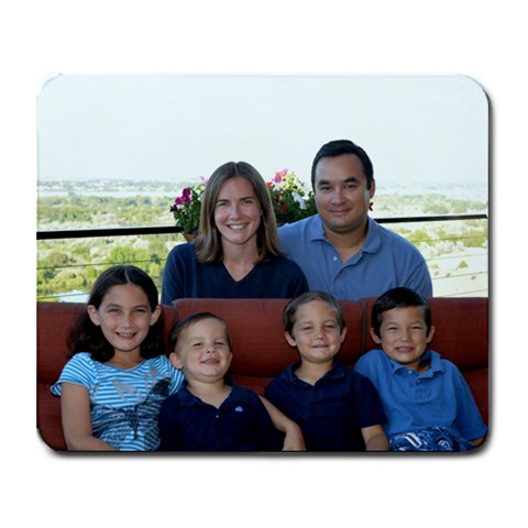 Family Mousepad By Mary   Collage Mousepad   Noep088u3zi5   Www Artscow Com 9.25 x7.75 Mousepad - 1