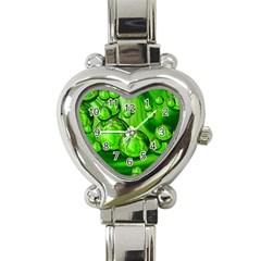 Magic Balls Heart Italian Charm Watch  by Siebenhuehner