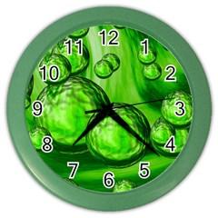 Magic Balls Wall Clock (color) by Siebenhuehner
