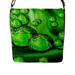 Magic Balls Flap Closure Messenger Bag (large) by Siebenhuehner