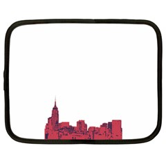 Skyline Netbook Case (large) by PaolAllen