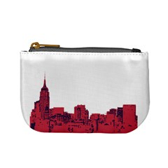 Skyline Coin Change Purse by PaolAllen