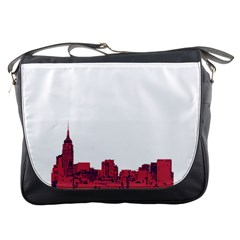 Skyline Messenger Bag by PaolAllen