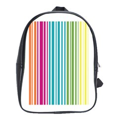 Color Fun School Bag (large) by PaolAllen