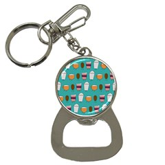 Time for coffee Bottle Opener Key Chain by PaolAllen