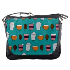Time For Coffee Messenger Bag by PaolAllen