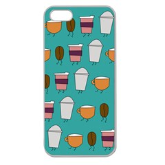 Time For Coffee Apple Seamless Iphone 5 Case (clear) by PaolAllen