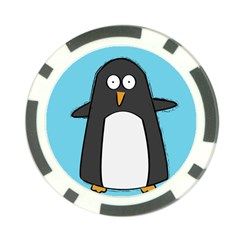 Hello Penguin Poker Chip by PaolAllen