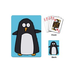 Hello Penguin Playing Cards (mini) by PaolAllen