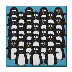 Penguin Group Ceramic Tile by PaolAllen