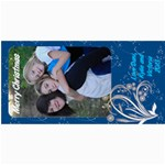 danis xmas card - 4  x 8  Photo Cards