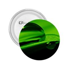 Green Drop 2 25  Button by Siebenhuehner