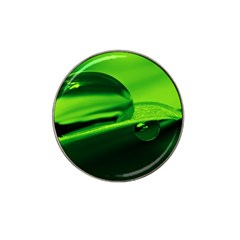 Green Drop Golf Ball Marker (for Hat Clip) by Siebenhuehner