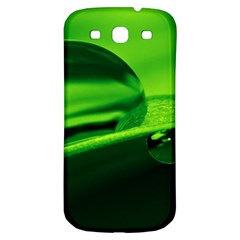 Green Drop Samsung Galaxy S3 S Iii Classic Hardshell Back Case